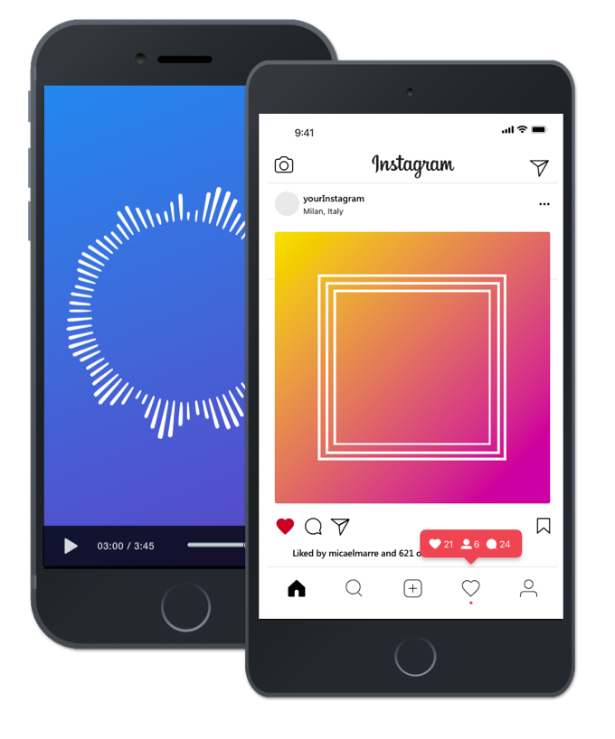 Wavve | Share Audio On Social Media By Turning It Into